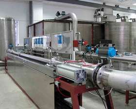 Medidor de vazão de água analógico
