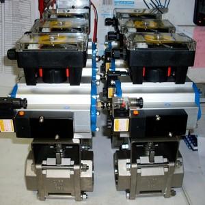 Automação de válvulas