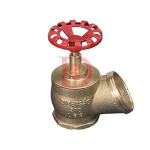 Válvula globo para incêndio