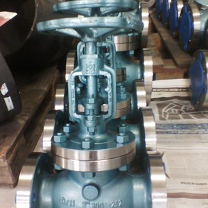Valvula globo para óleo